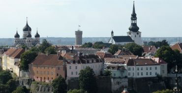 Stadtpanorama in Tallin
